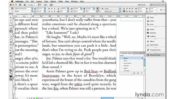 Choosing other languages: InDesign Insider Training: Beyond the Essentials