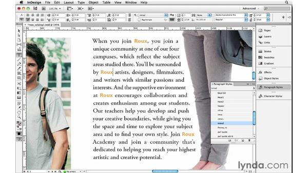 The basics of GREP styles: InDesign Insider Training: Beyond the Essentials