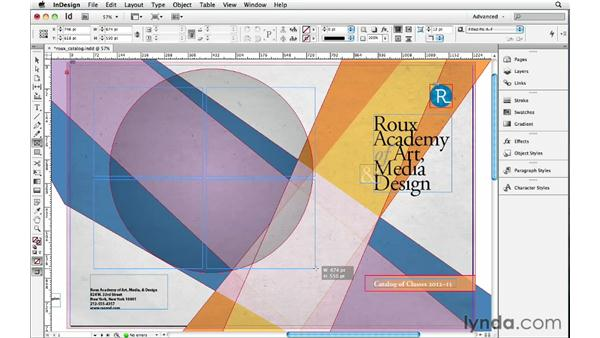 Making grids: InDesign Insider Training: Beyond the Essentials