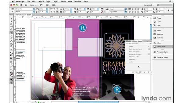 Default graphics and text frame styles: InDesign Insider Training: Beyond the Essentials