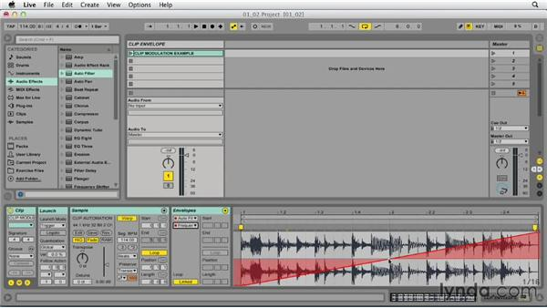 Creating clip envelopes and putting them to work: Ableton Live 9 Tips and Tricks