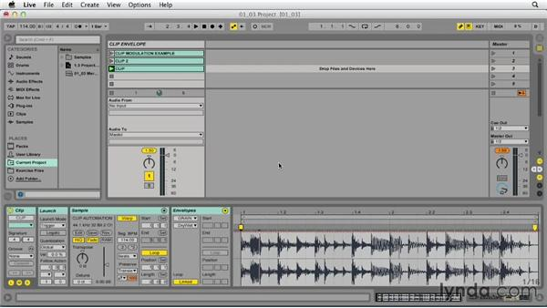 Using clip envelopes to create and manage alternate variations of clips: Ableton Live 9 Tips and Tricks