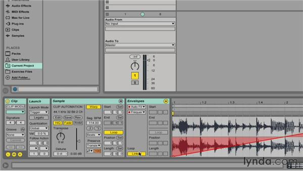 Unlinking clip envelopes for increased control: Ableton Live 9 Tips and Tricks