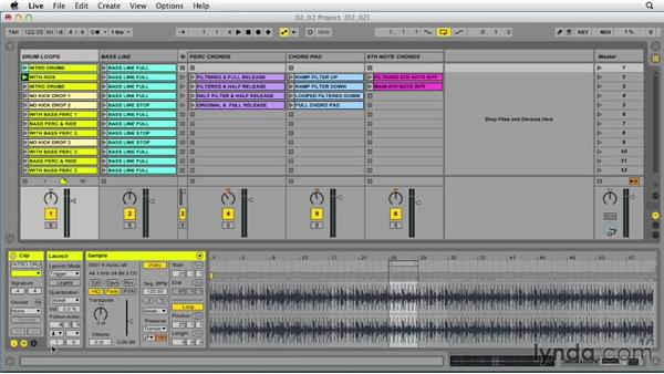 Using Follow Actions to create an automated playlist: Ableton Live 9 Tips and Tricks