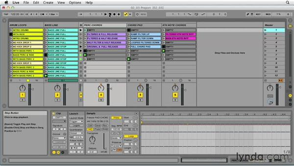 Creating song arrangements with randomized Follow Actions: Ableton Live 9 Tips and Tricks