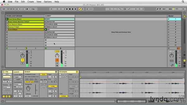 Sound designing with dummy clips and Follow Actions: Ableton Live 9 Tips and Tricks