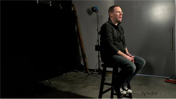 Using backdrops: Foundations of Video: Interviews