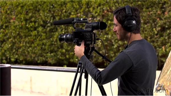 Conducting a man-on-the-street interview: Foundations of Video: Interviews