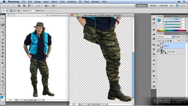 Working with multiple layers: Photoshop CS5 Smart Objects Workshop