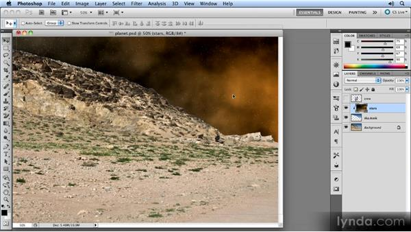 Preparing the ground: Photoshop CS5 Smart Objects Workshop