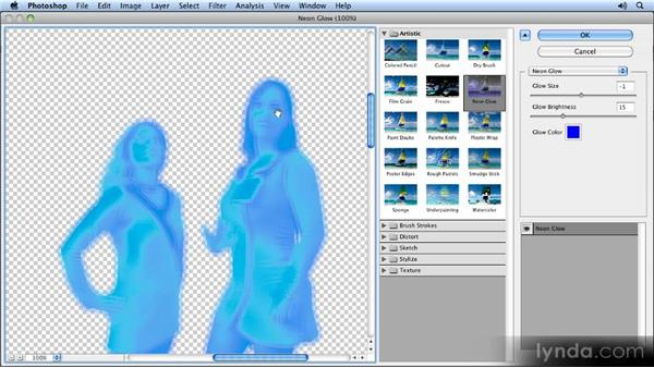 Adjusting the effects: Photoshop CS5 Smart Objects Workshop