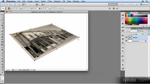 Distorting the Smart Object: Photoshop CS5 Smart Objects Workshop