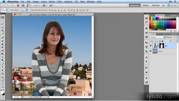 Adjusting the RAW image: Photoshop CS5 Smart Objects Workshop