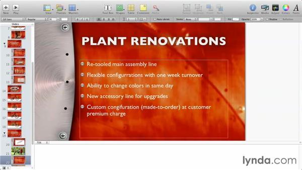 Spell-checking: Delivering Keynote Presentations