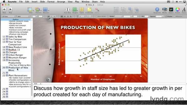 Printing your outline: Delivering Keynote Presentations