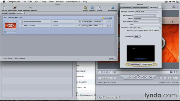 Creating a DVD from a Keynote presentation with Compressor: Delivering Keynote Presentations