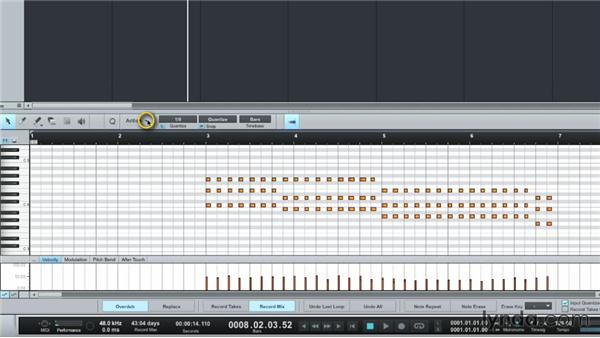Editing MIDI: Up and Running with Studio One