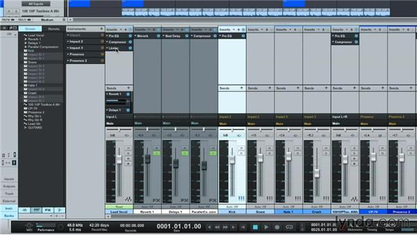 Exporting your mix: Up and Running with Studio One