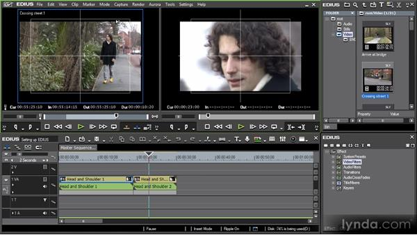 Monitor overlays: Getting Started with EDIUS 6
