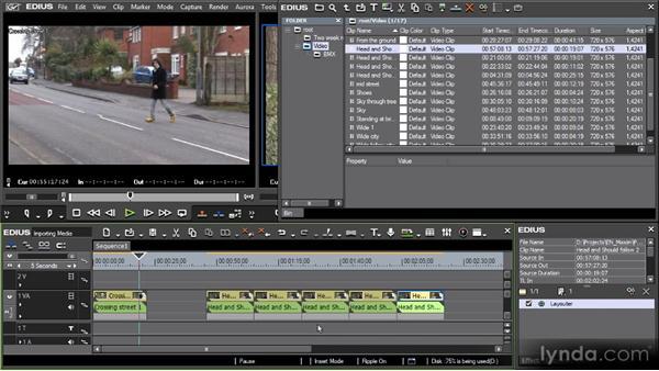 EDIUS media handling: Getting Started with EDIUS 6