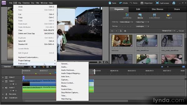 All about Adobe interfaces: Up and Running with Premiere Elements 9