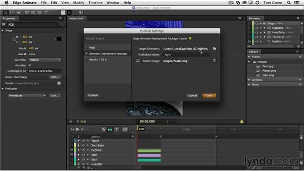 Workflow: Animate to Dreamweaver to PhoneGap Build: Creating Interactive Projects with Edge Animate