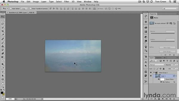 Adding Smart Filters and blurs to your video in Photoshop: Creating Interactive Projects with Edge Animate