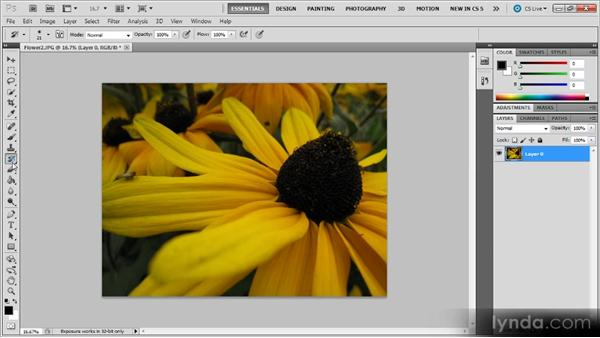 Core interface elements: Photoshop CS5 for Video Editors
