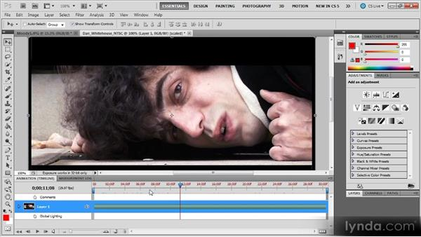 Useful features: Photoshop CS5 for Video Editors