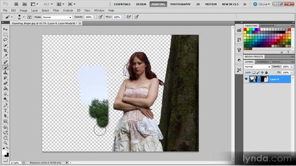 Adding a mask: Photoshop CS5 for Video Editors