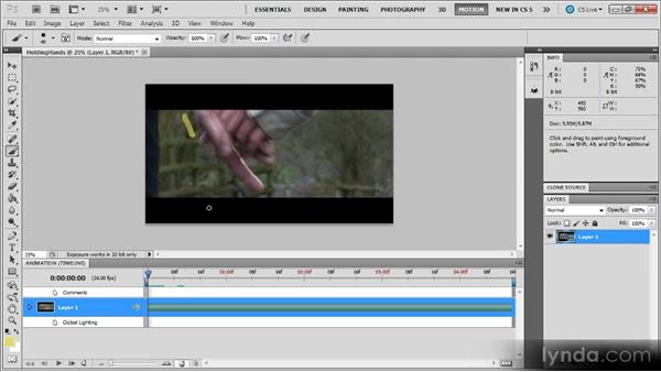 Onion skinning: Photoshop CS5 for Video Editors