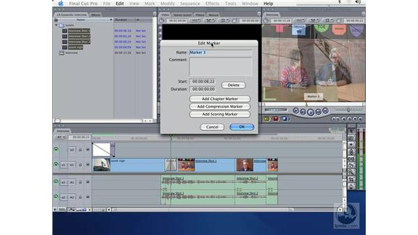 exporting FCP with markers: Learning LiveType
