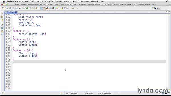 Understanding definition lists: CSS: Formatting Visual Data