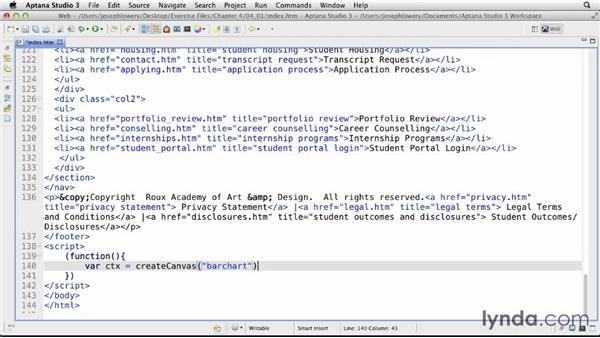Building bar charts: CSS: Formatting Visual Data