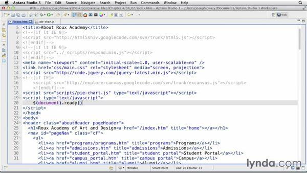 Creating pie charts: CSS: Formatting Visual Data