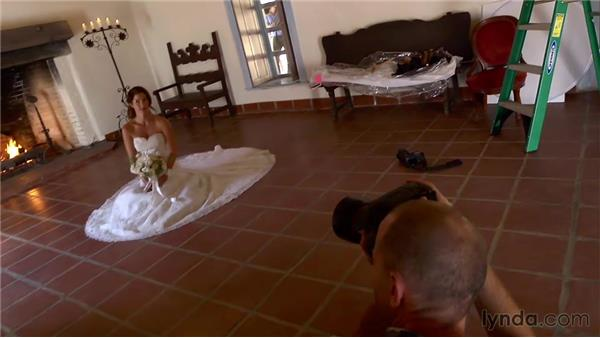 Using natural locations: Wedding Photography for Everyone: Bridal Portraits