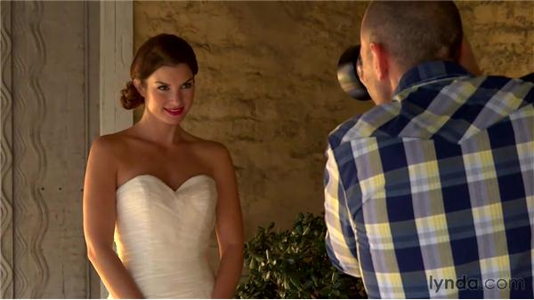 Reviewing tips for working with natural light: Wedding Photography for Everyone: Bridal Portraits