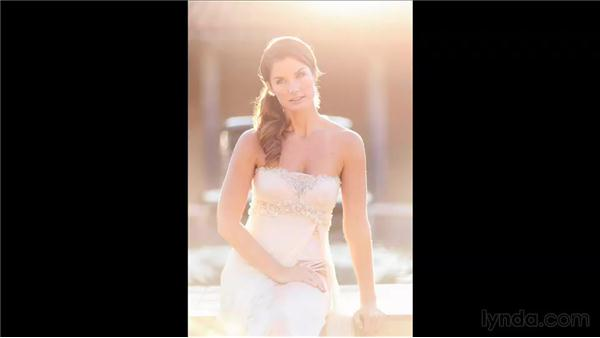 Reviewing images from the middle of the shoot: Wedding Photography for Everyone: Bridal Portraits