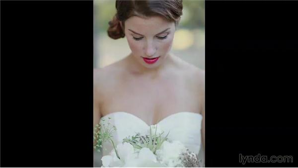 Comparing before and after: Wedding Photography for Everyone: Bridal Portraits