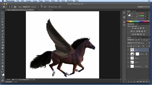 Applying the wings: Bert Monroy: Dreamscapes Volume 2