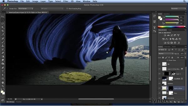 Flashlight and glow: Bert Monroy: Dreamscapes Volume 2