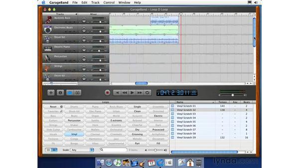 finishing the song: Learning GarageBand