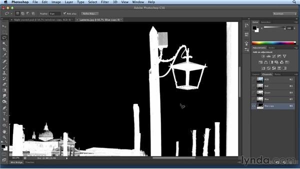 Isolating lanterns and adding light: Bert Monroy: Dreamscapes Volume 2
