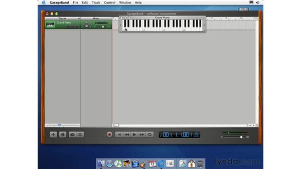 about MIDI: Learning GarageBand