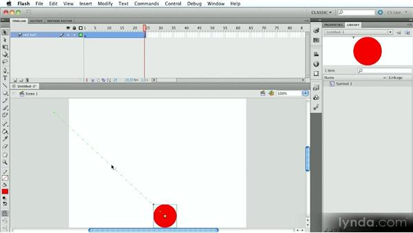 That's how the ball bounces: Introduction to Flash Animation