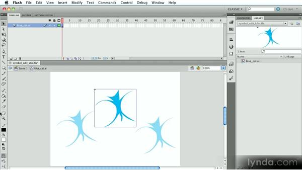 Editing symbols: Introduction to Flash Animation