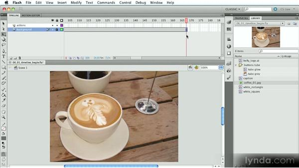 The Timeline: Part one: Introduction to Flash Animation