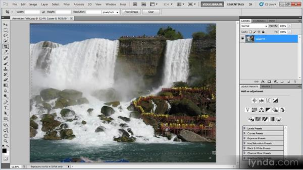 The Crop tool: Photoshop Image Cleanup Workshop