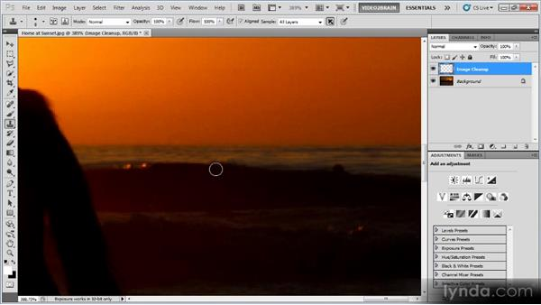 Mix and match: Photoshop Image Cleanup Workshop
