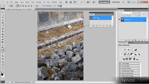 Pen tool cleanup: Photoshop Image Cleanup Workshop